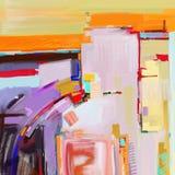 Pintura abstracta digital original ilustración del vector