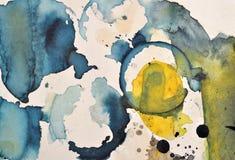 Pintura abstracta texturizada fotos de archivo