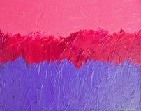 Pintura abstracta texturizada ilustración del vector