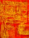 Pintura abstrata 2 Foto de Stock Royalty Free