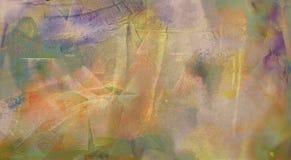 Pintura abstrata Imagens de Stock Royalty Free