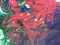 Pintura abstrata Fotografia de Stock Royalty Free