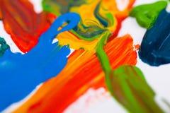 Pintura abstrata Foto de Stock Royalty Free