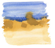 Pintura abstrata da aguarela Imagem de Stock Royalty Free