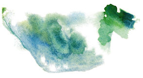 Pintura abstrata da aguarela Fotografia de Stock