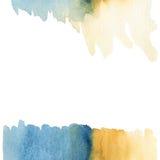 Pintura abstrata da aguarela Fotografia de Stock Royalty Free