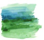 Pintura abstrata da aguarela Fotos de Stock Royalty Free