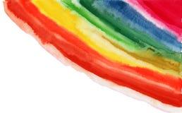 Pintura abstrata da aguarela. Imagens de Stock Royalty Free