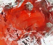 Pintura abstrata da aguarela Imagens de Stock Royalty Free