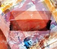 Pintura abstrata da aguarela Fotos de Stock