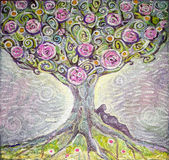 Pintura abstrata da cor Foto de Stock Royalty Free