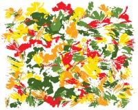Pintura abstrata da escova do óleo ilustração stock