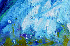 Pintura abstrata das cores de petróleo Imagem de Stock Royalty Free