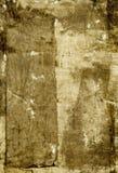 Pintura abstrata de Brown ilustração stock