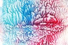 Pintura abstrata do relevo, relevo colorido das raias fotografia de stock royalty free
