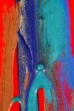 Pintura abstrata e Glitter imagens de stock