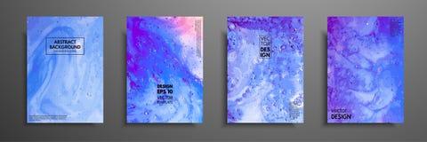A pintura abstrata, pode ser usada como um fundo na moda para papéis de parede, cartazes, cartões, convites, Web site moderno ilustração stock