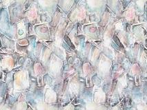 Pintura acrílica Fundo textured sem emenda do grunge abstrato Imagem de Stock