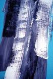 Pintura acrílica tirada mão Fundo da arte abstrata Pintura acrílica na lona Textura da cor Fragmento da arte finala brushstrokes ilustração royalty free