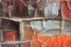 Pintura agrietada 2 Imagenes de archivo