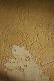 Pintura agrietada y de la peladura Imagen de archivo libre de regalías