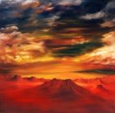 Pintura al óleo Foto de archivo libre de regalías