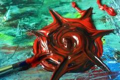 Pintura al óleo fotos de archivo libres de regalías