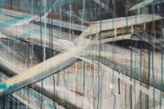 Pintura al óleo abstracta fotos de archivo libres de regalías