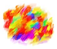 Pintura al óleo abstracta libre illustration
