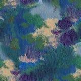 Pintura al óleo dibujada mano Fondo del arte abstracto Pintura al óleo en lona Textura del color Fragmento de las ilustraciones P Imagen de archivo