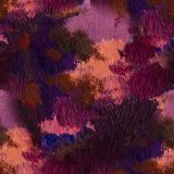 Pintura al óleo dibujada mano Fondo del arte abstracto Pintura al óleo en lona Textura del color Fragmento de las ilustraciones P Foto de archivo libre de regalías
