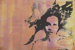 Pintura al óleo original Fotos de archivo