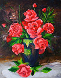 Pintura al óleo - Rose libre illustration