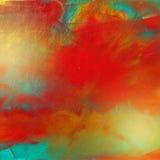 Pintura al óleo viva Fotos de archivo libres de regalías