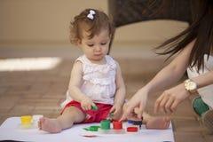 Pintura al aire libre Imagen de archivo libre de regalías