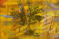 Pintura al óleo original Fotografía de archivo