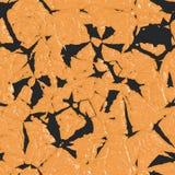 Pintura amarilla subrayada Foto de archivo libre de regalías