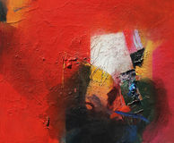 Pintura analogica abstracta stock de ilustración