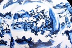 Pintura antiga chinesa imagem de stock