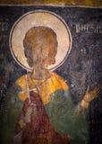Pintura antiga na igreja Imagens de Stock Royalty Free