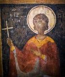 Pintura antiga na igreja Fotos de Stock Royalty Free