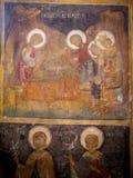 Pintura antiga na igreja Imagens de Stock