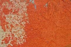 Pintura apenada rojo Foto de archivo libre de regalías