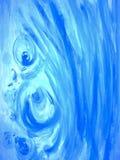 Pintura azul Foto de archivo libre de regalías