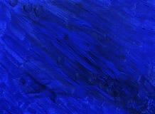 Pintura azul Foto de Stock