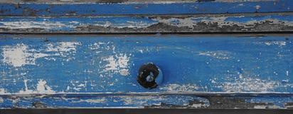 Pintura azul antigua Fotografía de archivo libre de regalías