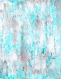 Pintura azul del arte abstracto Fotografía de archivo libre de regalías