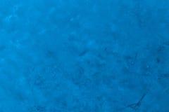 Pintura azul en el papel Imágenes de archivo libres de regalías
