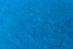Pintura azul no papel Imagens de Stock Royalty Free