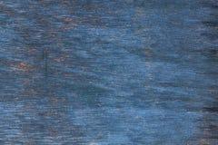A pintura azul velha de madeira Fotografia de Stock